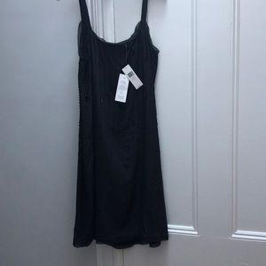 Eileen Fisher silk beaded dress